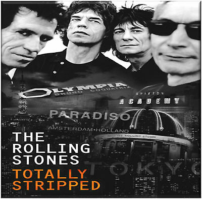 The Rolling Stones - Totally Stripped - Double Vinyl LP + DVD