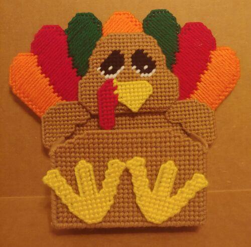 Plastic Canvas Turkey Treat Candy Holder
