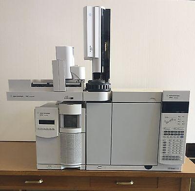Agilent 7890 Gas Chromatograph Mass Spectrometer Gcms System