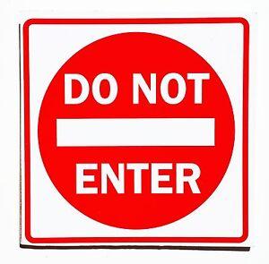 Do Not Enter Fun College Door Signs Humourous Plaque Home