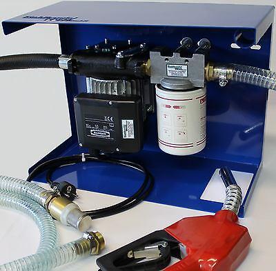 Aus Deutschland 230V Diesel Filter Tankstelle Tankreinigung Dieselpumpe Tank