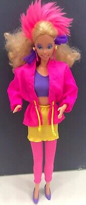 1980s BARBIE & THE ROCKERS Barbie Doll with HTF Accessories!