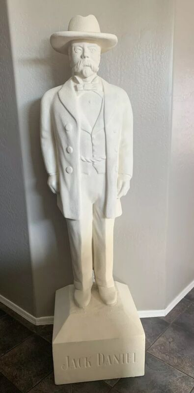Rare 6ft Jack Daniels Statue Store Display