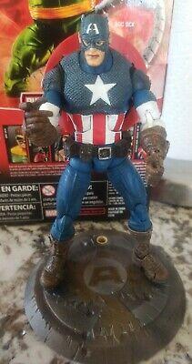 Marvel Legends Toybiz Series 8 VIII Ultimate Captain America Rare Winged Variant