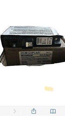 10- Qty 10- Square D Home Line 20 Amp Arc Fault Breakers