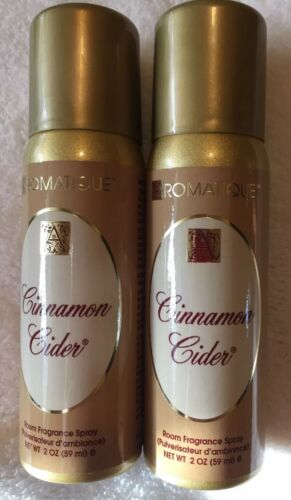 2 CINNAMON CIDER By Aromatique, 2 Ounce Room Spray.