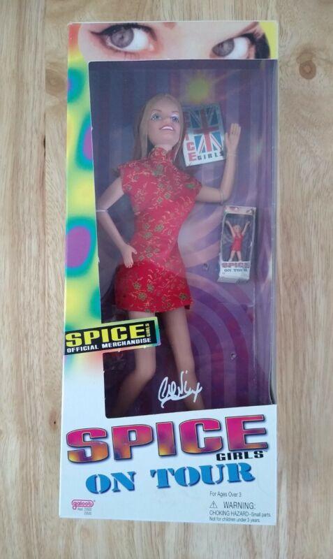 NEW Vintage Spice Girls On Tour, Ginger Geri Halliwell Doll 1998