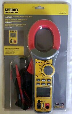Nip Sperry Instruments 12 Function True Rms Digital Clamp Meter Dsa2009trms