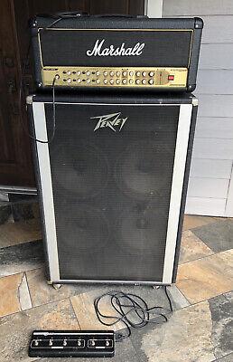 "Marshall AVT 150H w/ Peavy 4 x 12"" Cabinet"