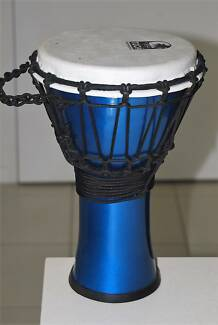 NEW Toca 7inch Djembe Metallic Blue
