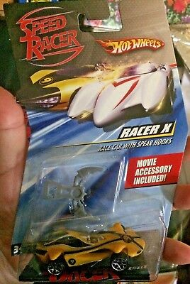 Hot Wheels Car Speed Racer X With Spear Hooks Movie Accessory Die cast 2007 for sale  Shipping to Canada