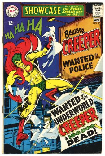 SHOWCASE #73 F/VF, 1st app. CREEPER! Steve Ditko, DC Comics 1968