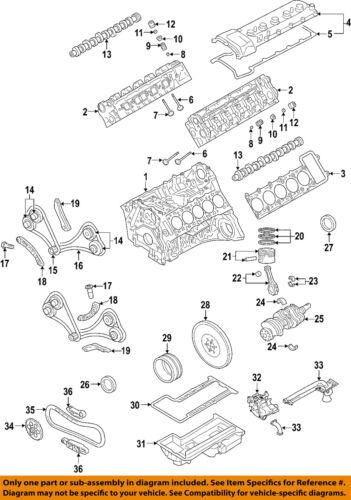 bmw oem 06 08 m5 engine valve spring retainer keeper 11341340846 ebay rh ebay com