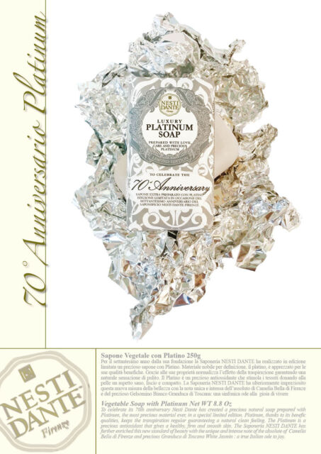 Nesti Dante 70th Anniversary Platinum Soap 250 gr