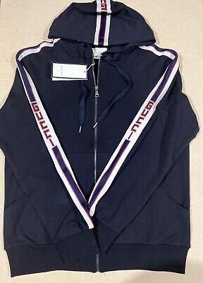 Gucci Hoodie Sweatshirt Black Size XL Extra Large Bargain