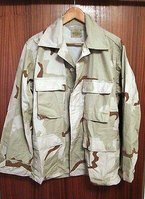 USAF Combat Shirt/Jacket in Tri-Color Desert Camo - Med/Short - C