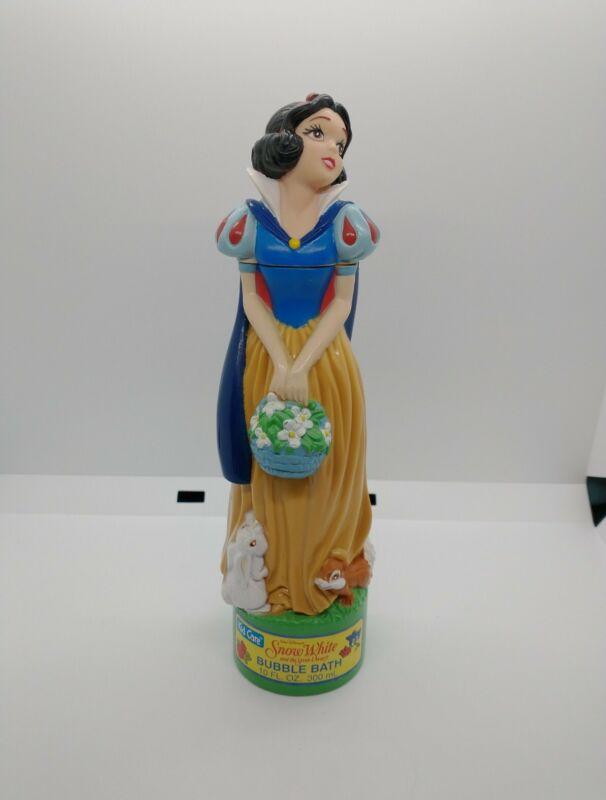 Snow White and Seven Dwarfs 1993 vintage BUBBLE BATH 10oz. EMPTY