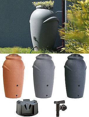 Regenwassertonne Wassertank Regentonne Regentank Amphore 210 L Wasserbehälter