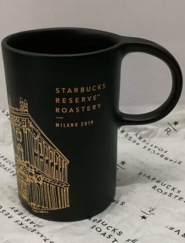 Starbucks Reserve Roastery New York Ceramic 10OZ Mug Cement Grey NEW