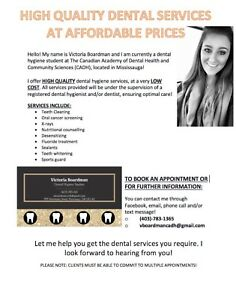 LOW COST DENTAL SERVICES