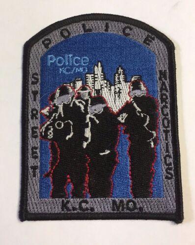 Kansas City Missouri Police Department Narcotics Unit Cloth Patch