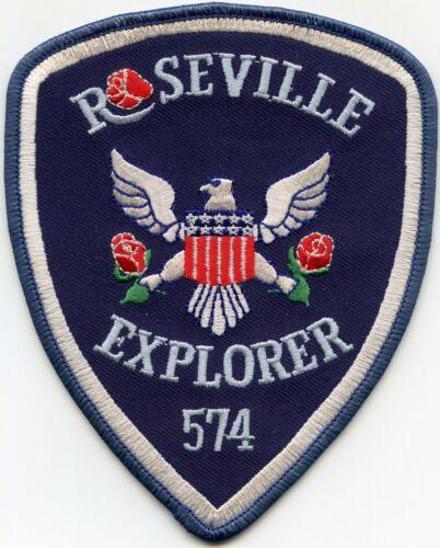 ROSEVILLE MINNESOTA MN EXPLORER POLICE PATCH