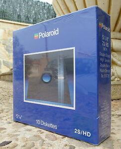 Caja-10-disquetes-5-25-034-5-1-4-POLAROID-Precintada-100-nuevos-2S-HD