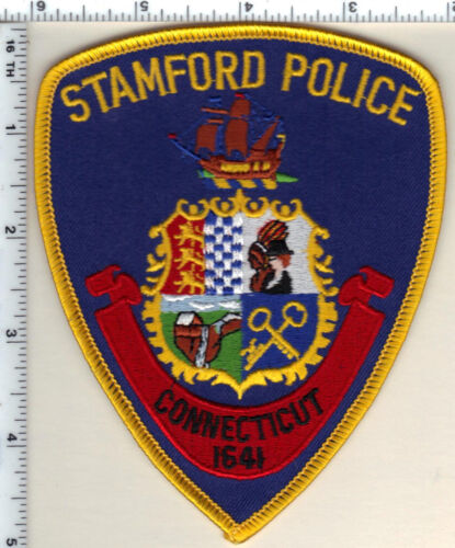 Stamford Police (Connecticut) Shoulder Patch - new from 1997