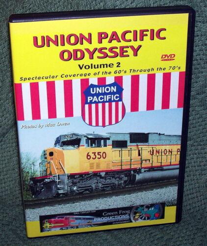 "20021 TRAIN VIDEO DVD ""UNION PACIFIC ODYSSEY #2"" 60"