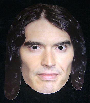 Neu Russell Brand Prominent Berühmt Gesichtsmaske Kostüm - Russell Kostüm