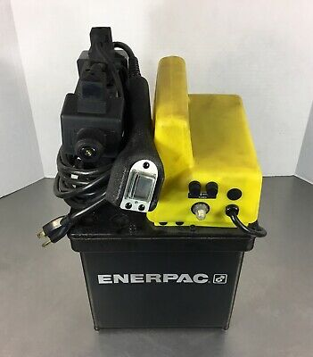 Enerpac Per1401b Electric Pump 4-way Valve 115v 13.5a 1ph 0-10000psi.  4e
