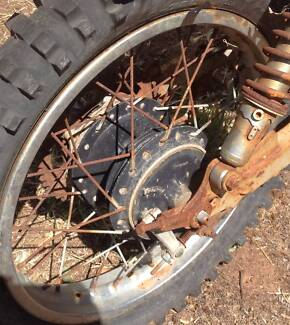 Kawasaki KE175 1980 Rear Rim Cowra Cowra Area Preview