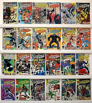 Amazing Spider-Man Lot of 80 comics  FINE or better See Issue #'s & photos
