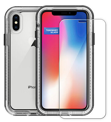 Tempered Glass Screen Protector For Lifeproof Next Case   Iphone X