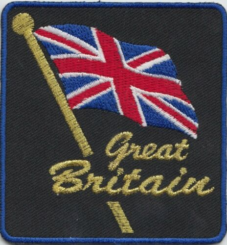 Great Britain Union Jack Flag Embroidered Patch - LAST FEW