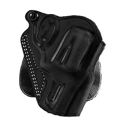 Galco Speed Paddle Holster for S&W L FR 686 3-Inch (Black, Right-Hand)