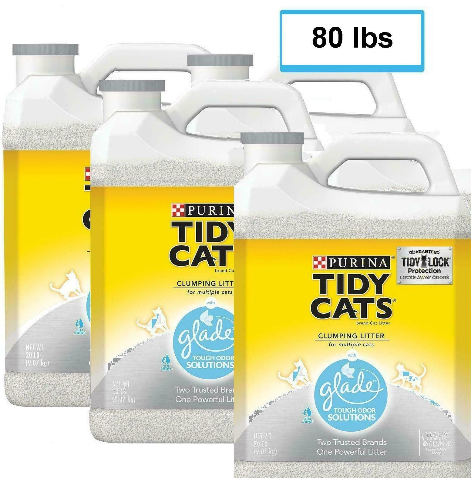 Purina Tidy Cats Glade Tough Odor Solutions Clear Springs Cl