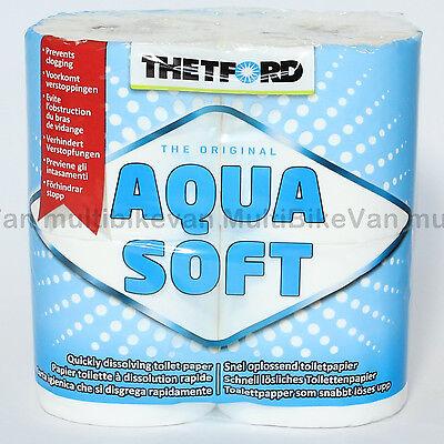 Aqua Soft Camping Toilettenpapier  WC  Papier Thetford Toilette Boot Womo
