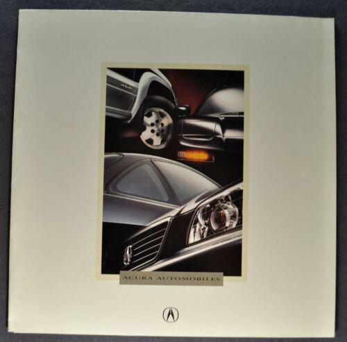 1996 Acura Sales Brochure Folder Integra NSX TL SLX Excellent Original 96