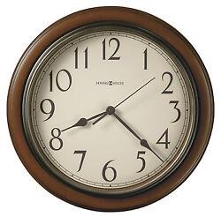 HOWARD MILLER WALL CLOCK 625-418  KALVIN- 15 1/4 DIAMETER ROUND  625418