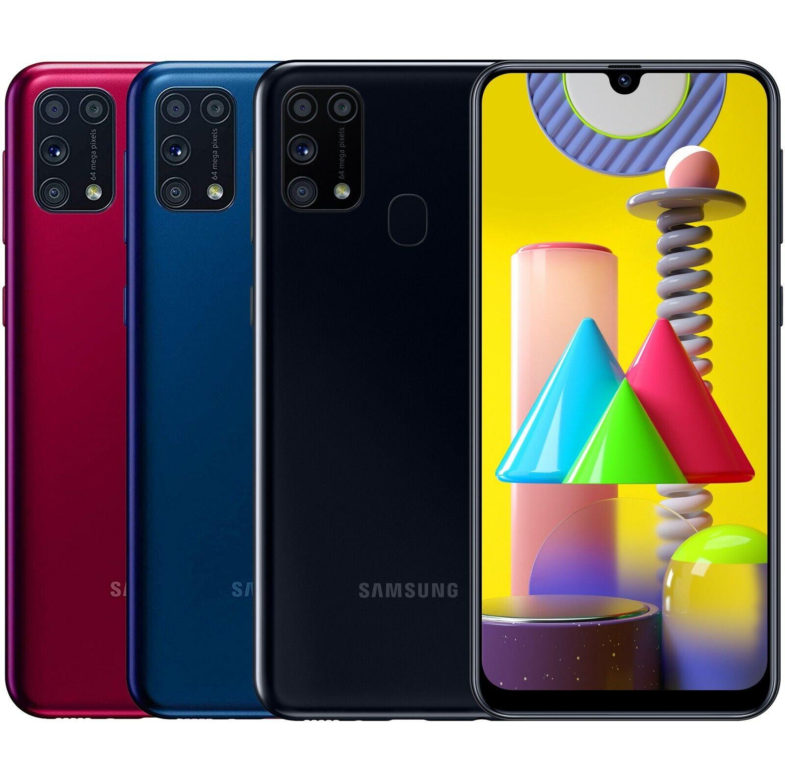 "Android Phone - Samsung Galaxy M31 SM-M315F/DSN 128GB 6GB RAM Dual Sim (FACTORY UNLOCKED) 6.4"""