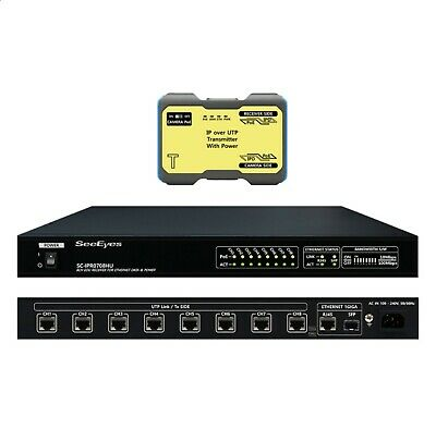 SeeEyes SC-IPC0708HU 8CH UTP transmission