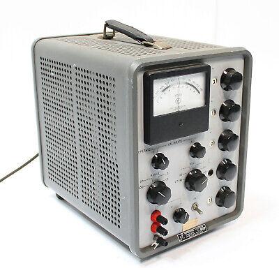 John Fluke 825a Ac-dc Differential Voltmeter