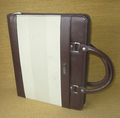 Monarchfolio 1.25 Rings Brown Sim. Leather Day-runnertimer Plannerbinder