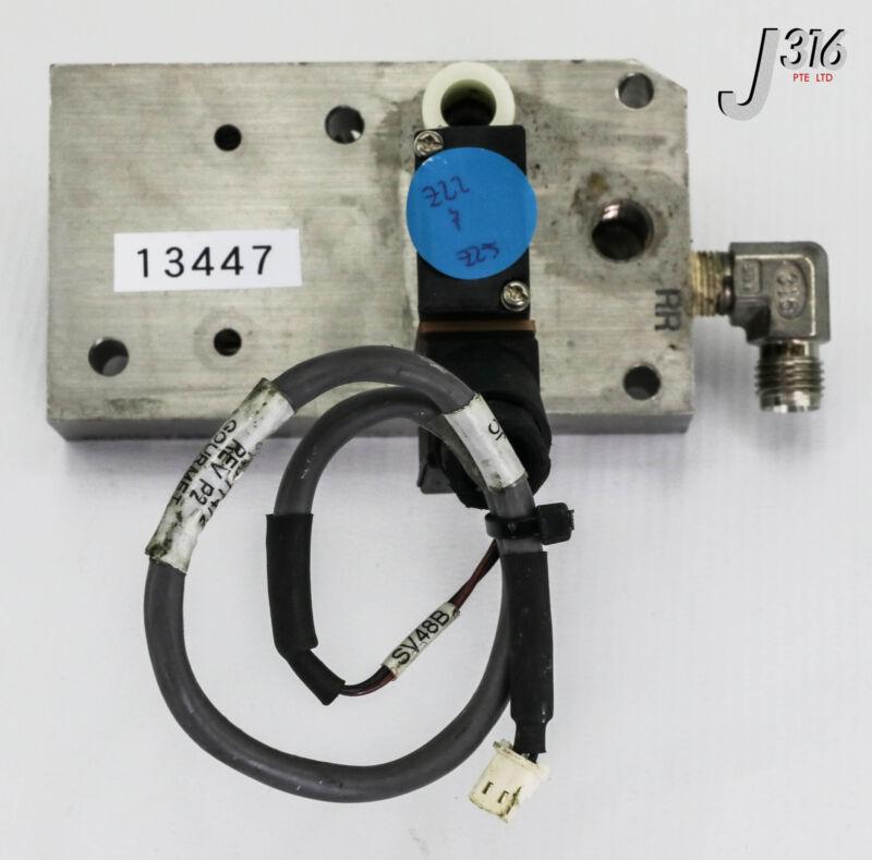 13447 Applied Materials Rr Manifold, 0190-77472 W/ Burkert Us0f01 0020-78947