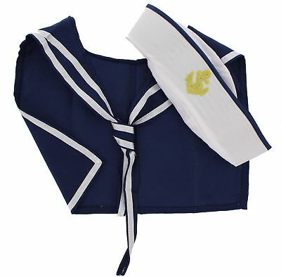 Zac's Alter Ego® Fancy Dress Sailor Hat & Scarf Set