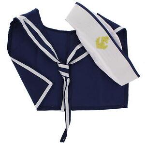 Zac's Alter Ego® Fancy Dress Sailor Hat & Scarf Set