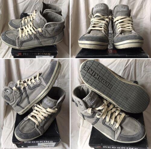 Baskets sneakers shoes redskins mid grey uk 7