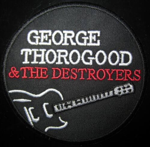 George Thorogood Rock Music Patch In Mint Condition!