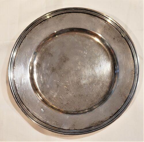 International Silver Solid Sterling Lord Saybrook Dessert Bread Plate Dish 82.9g